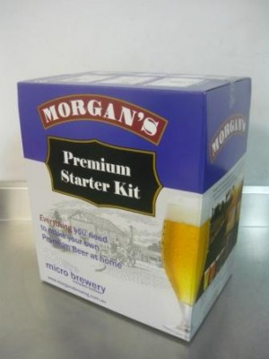 Beer Starter Kit - Morgans inc 30 PET Bottles