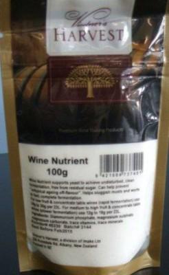 Wine Nutrient 100g - Brewcraft