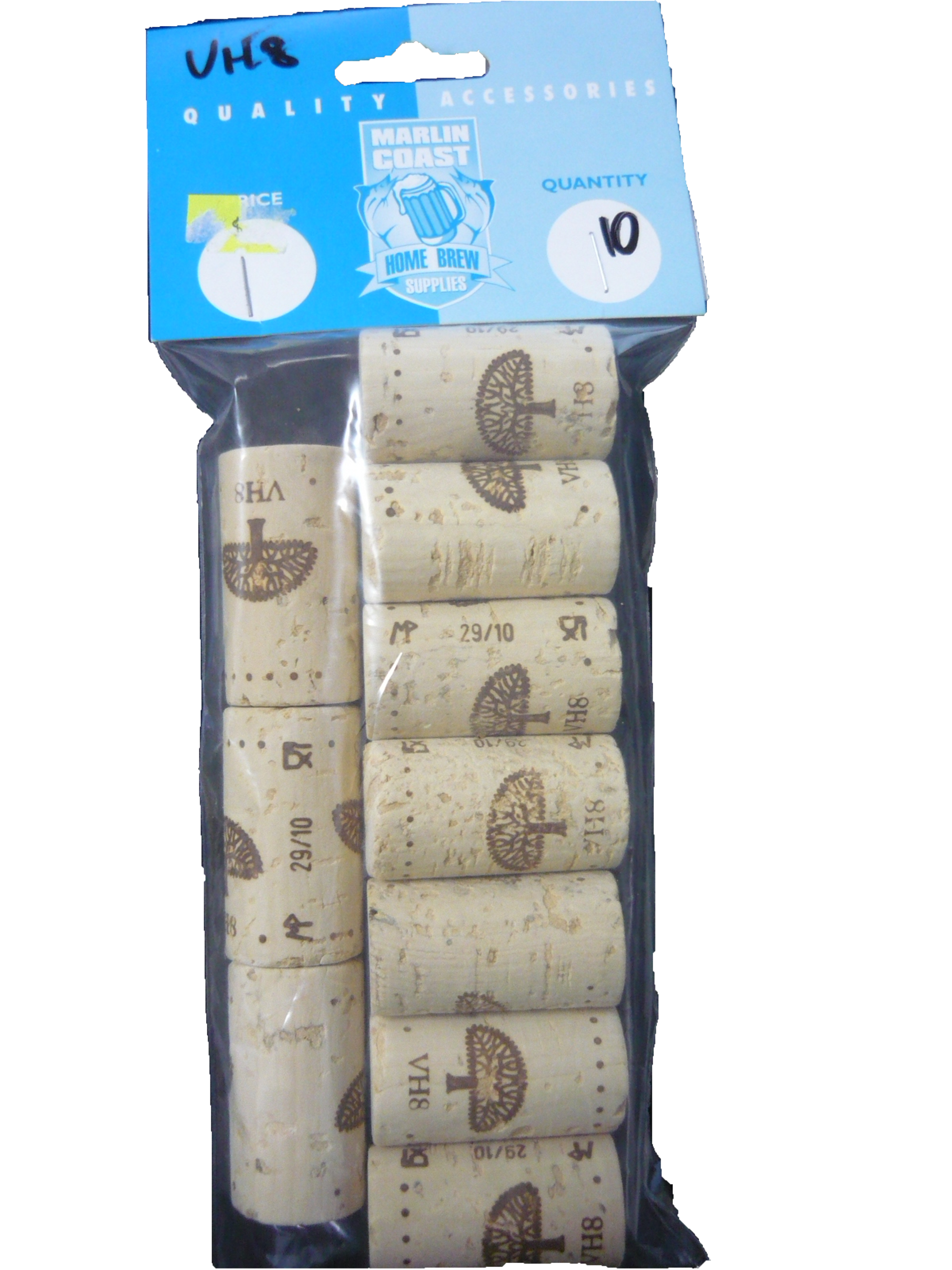 VH8 Wine Corks (pack of 10)