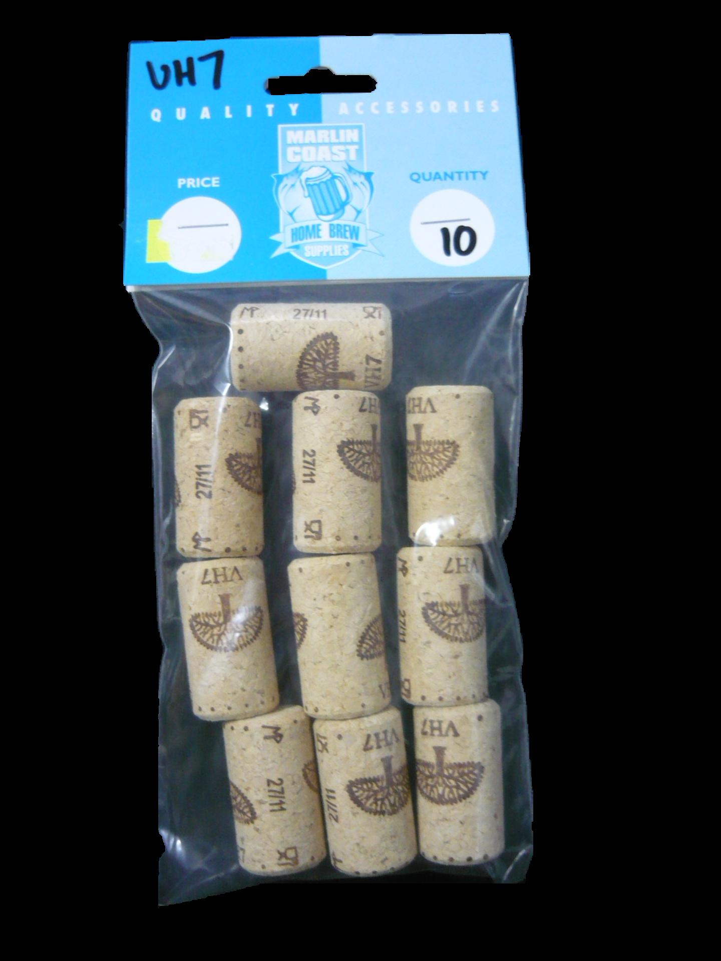 VH7 Wine Corks (pack of 10)
