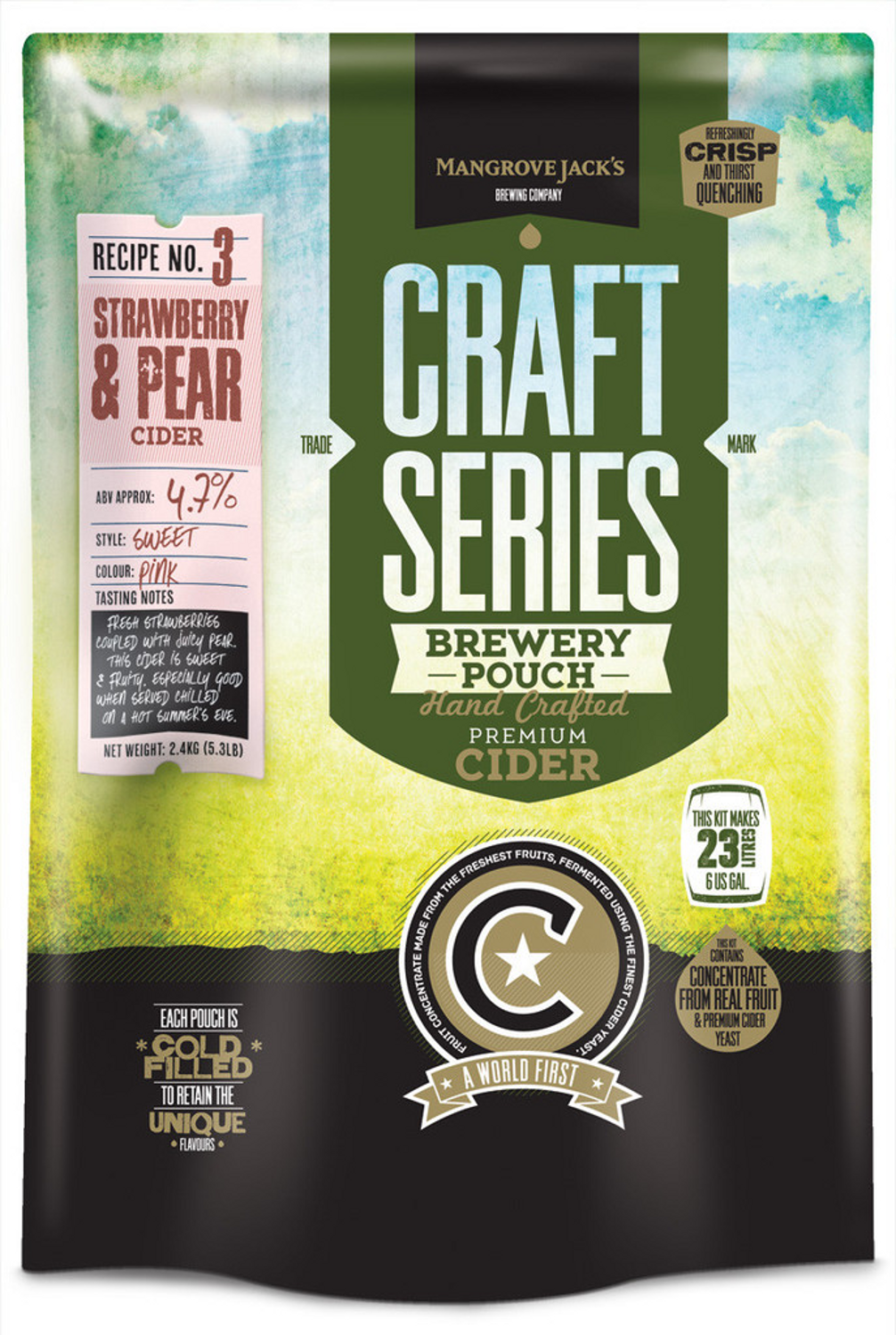 Mangrove Jack's - Strawberry and Pear - Craft Series