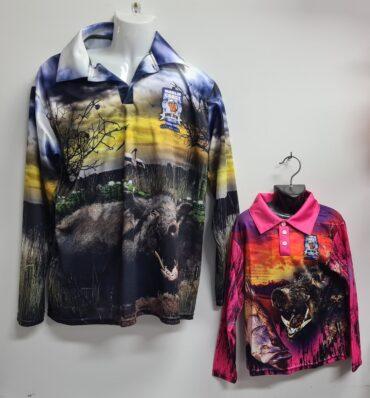 Marlin Coast Pig Hunting / Fishing Shirt