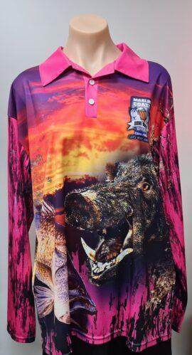 Marlin Coast Pig Hunting / Fishing Shirt (medium) 1